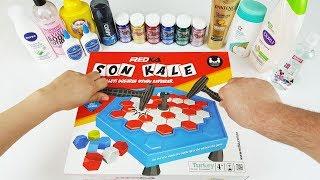 Zeka Oyunu ile Eğlenceli ve Komik Slime Yarışması - İyi Oynayan Kazanır😁