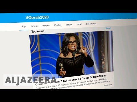 #Oprah2020: will Oprah run for US Presidency? 🇺🇸