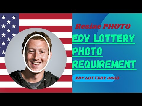 Learn To RESIZE YOUR PHOTO FOR DV LOTTERY