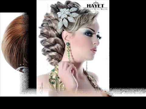 coiffure mariage hayat