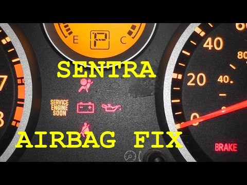 Nissan Sentra Infinity Airbag Light Blinking How To D