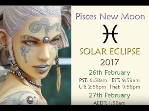 C*I*A's New Moon in Pisces SOLAR ECLIPSE 2017 with Agent 27