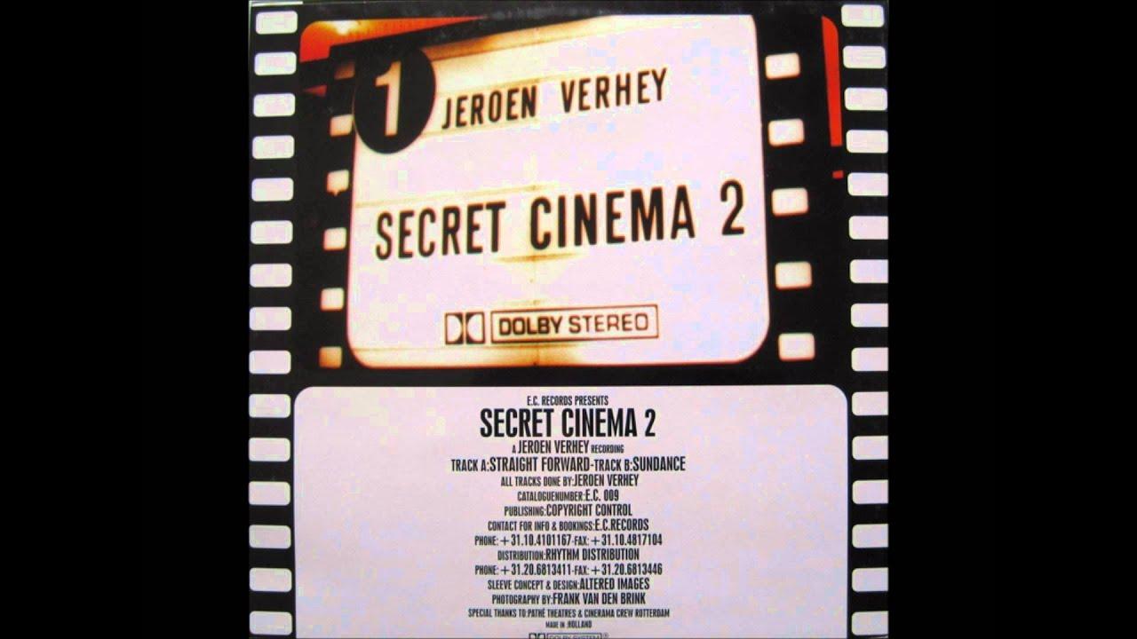 Straight Forward - Secret Cinema 2(Jeroen Verhey) / Straight Forward EP