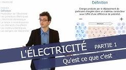 L'électricité - Qu'est ce que c'est ?