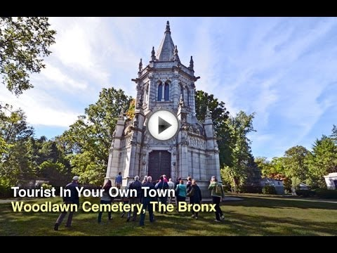 Tourist in Your Own Town #25 - Woodlawn Cemetery, The Bronx
