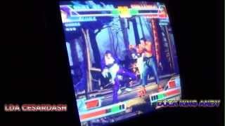 Battle 4 Ecuador 2014 KOF98 FT15: LDA | CesarDash (PER) vs. Big Ro+Duck King Andy (ECUA)