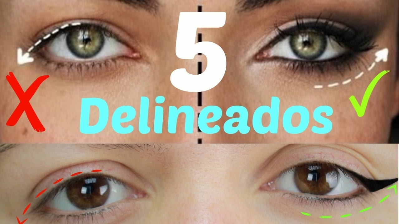 Tips De Delineado De Ojos Para Párpado Caído O Encapotados Paso A Paso