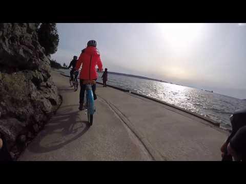 Bike ride around Yaletown, English Bay, Stanley Park Vancouver Canada