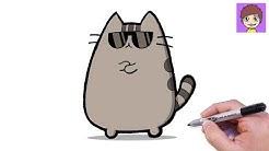 Como Dibujar Pusheen Donut Dibujos Para Dibujar Gokid Tv