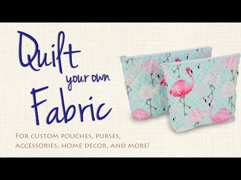 Sew Your Own Double-Faced Quilted Fabric
