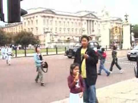 My Family's first visit to London in 2004 (2)