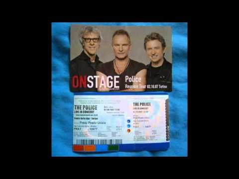 "THE POLICE - Torino ""Stadio delle Alpi"" 02-10-2007 Italy (full show)"