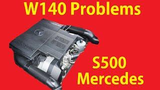 Fix Mercedes S500 Catalytic Converter issues Broken W140 Car