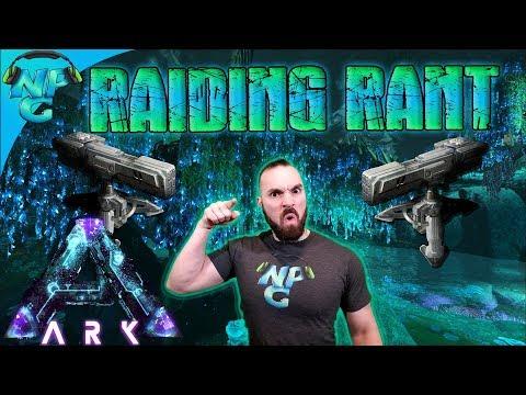 ARK Survival E-Vlogged Rant on Raiding 😡 and Nerd Parade in 2018 🎉! ARk Aberration S1E25.5