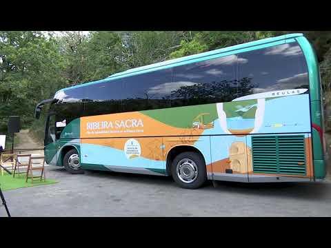 Parada de Sil ofrece un bus lanzadera para visitar Santa Cristina 28.7.21