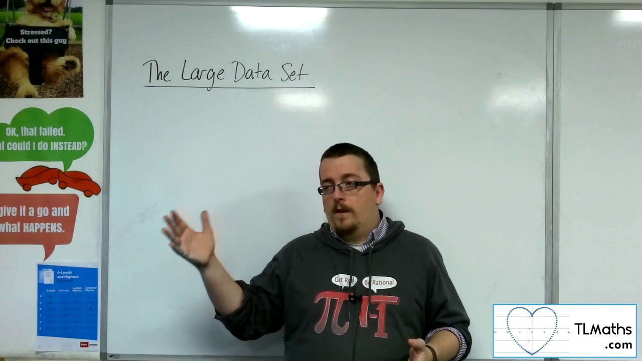 A-Level Maths: K1-00 [The Large Data Set: My Take] - YouTube