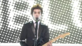CNBLUE - I'm a loner, 씨엔블루 - 외톨이야, Music Core 20100123