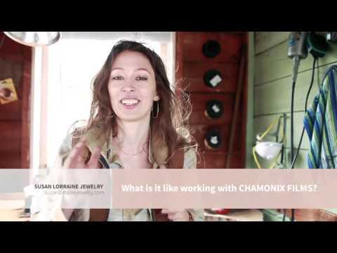 What's it like working with Chamonix Films? - Susan Lorraine Jewelry Testimonial