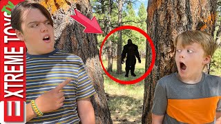 Did We Find Bigfoot in the Wilderness! Epic Hunt for the Legendary Sasquatch in Matchbox City!