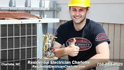 Residential Electrician Charlotte NC | Call 704-684-4520 | Charlotte Electrician