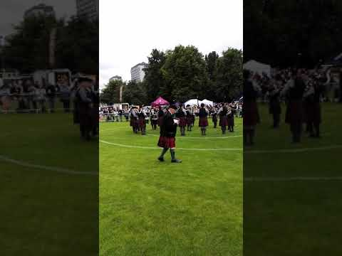 The Jefferson Pipe Band