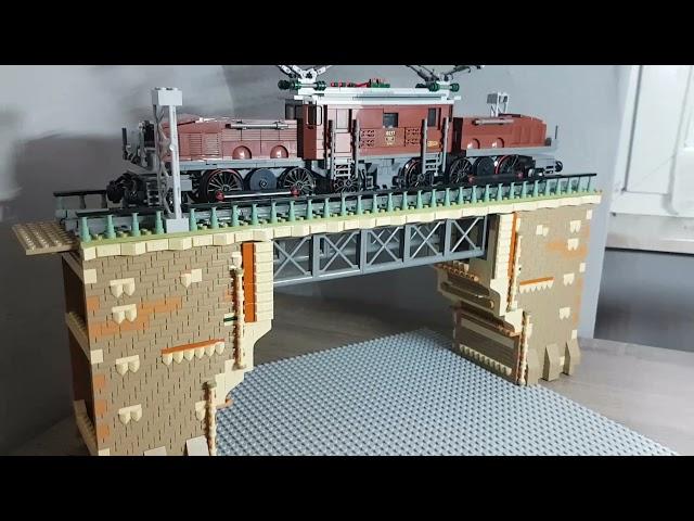 Lego City Eisenbahn auf 2qm (Part6) Die Eisenbahnbrücke