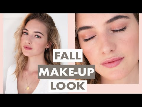Natural Everyday Fall Makeup Routine | Simple, Glowy Skin, Light Lip & Eye Tutorial | Sanne Vloet