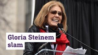 Gloria Steinem slams Donald Trump