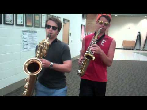 Get Lucky (Daft Punk) | Alto and Bari Sax Cover |