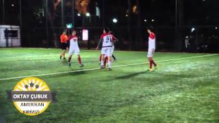 iddaa Rakipbul Halı Saha Ligi Amerikan Kırmızı Oktay Çubuk Maçın Golü