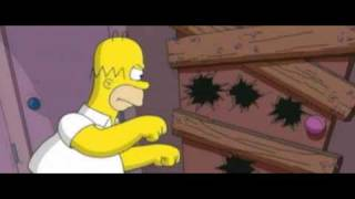 The Simpsons Movie - Chainsaw Scene