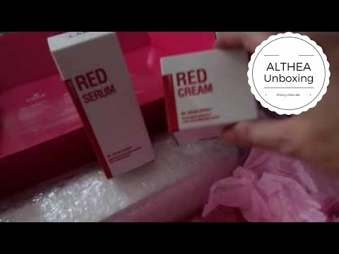 Unboxing Althea 10 Minute Miracle Set (Chica Y Chico Products) Plus Son & Park Beauty water