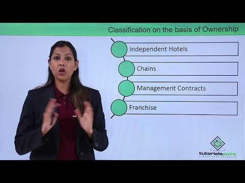 Hospitality Management - Types Of Hotels