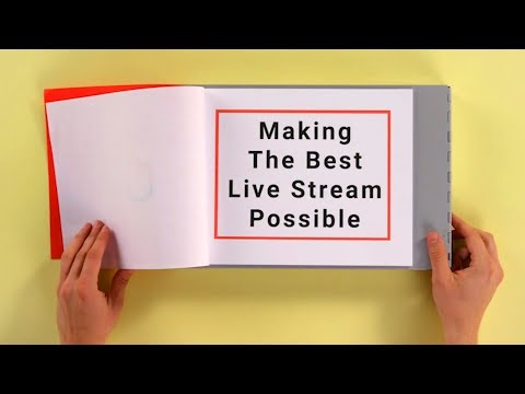 How to Produce a Successful Live Stream