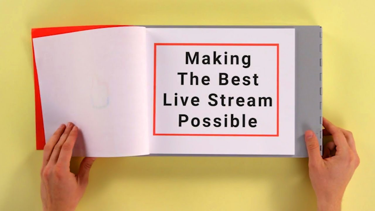 how to make a successful live stream