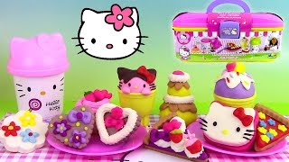 Pâte à modeler Play Doh Hello Kitty Pastry Shop La Pâtisserie Mallette ♥ ハローキティ Hello Kitty Playset