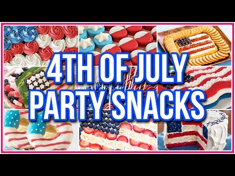 9 American Flag Foods Your 4th of July Needs