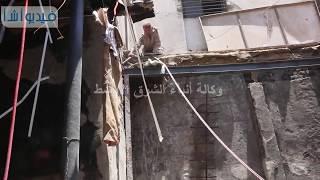 بالفيديو : ازالة المحلات التجارية ببولاق أبوالعلا