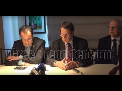 Cyprus President Nicos Anastasiades Talks Ahead of 71st UN General Assembly