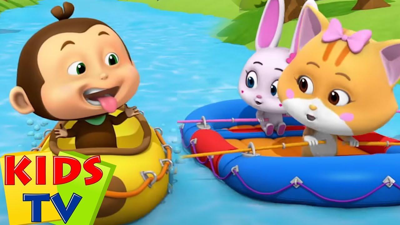 Download Flod løb | Sjove animerede videoer | Kids Tv Danish | Børn tegneserier