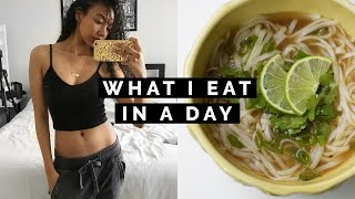 🍜 WHAT I EAT IN A DAY #5: HEALTHY ASIAN FOOD!