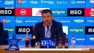 Conferência de imprensa de Sérgio Conceição - FC Porto 3-0 GD Chaves