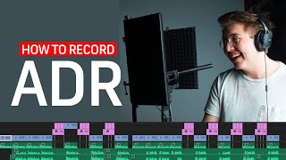 How to Record ADR Dialogue | Filmmaking Tips