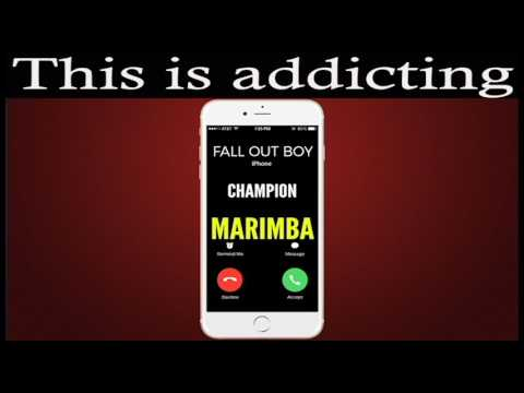 Latest iPhone Ringtone - Champion Marimba Remix Ringtone - Fall Out Boy