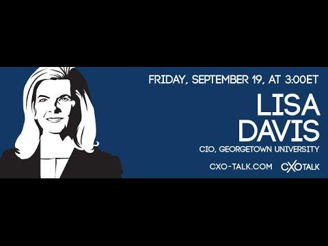#79: CXOTalk featuring Lisa Davis