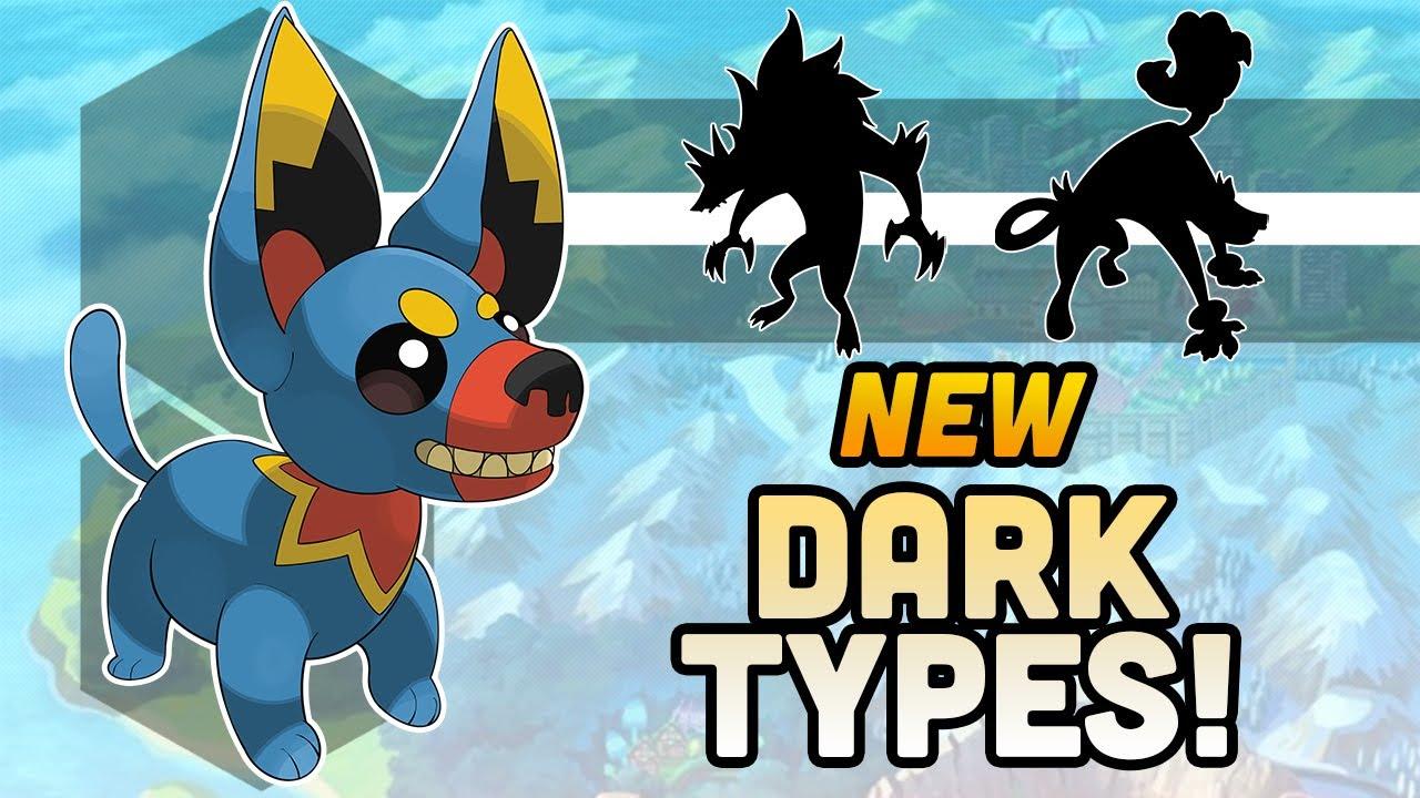 Designing New Dark Types! (Gen 9 Split Evolutions!)