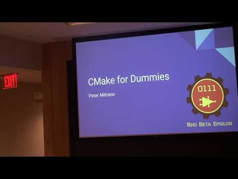 CMake for Dummies
