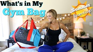 What's in My Gym Bag | SUMMER Essentials 2016!