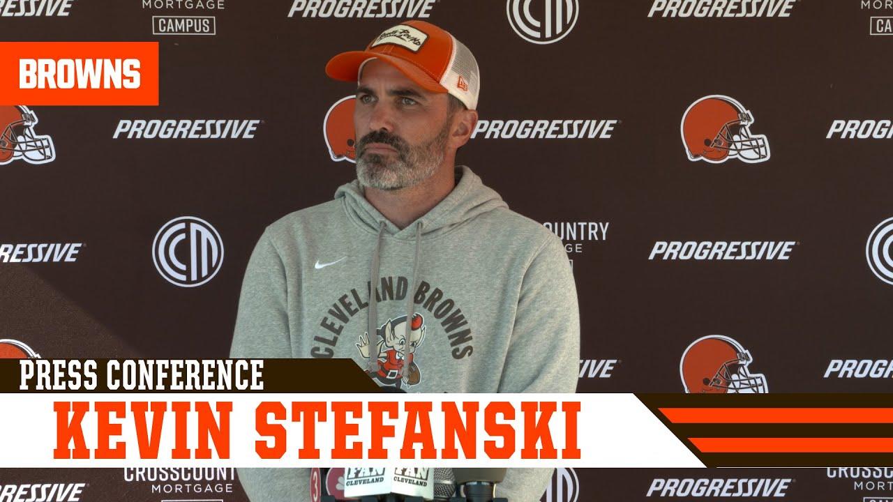 Browns HC Kevin Stefanski calls D'Ernest Johnson 'a warrior ...