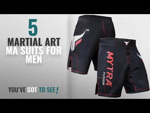 Top 10 Martial Art Ma Suits For Men [2018]: Mytra Fusion MMA Shorts MMA Boxing Kickboxing Muay Thai